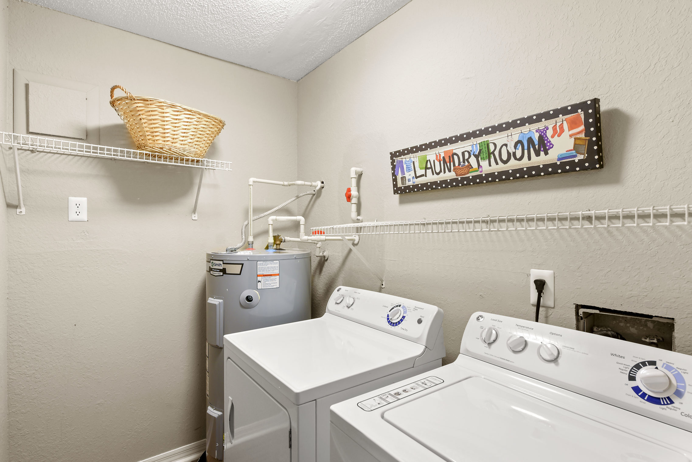 apartment washer and dryer in-unit