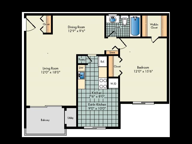 Deluxe One Bedroom