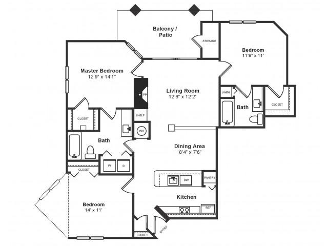 Springfield Floor Plan