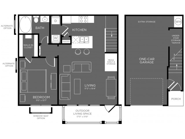 Floor Plan 5 | Apartments In Pflugerville | The Mansions at Stone Hill