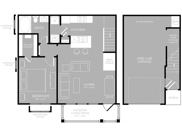 Floor Plan 7 | Apartments North Austin | The Mansions at Travesia