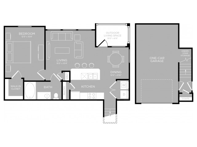 Floor Plan 11 | Apartments In Austin | The Mansions at Travesia