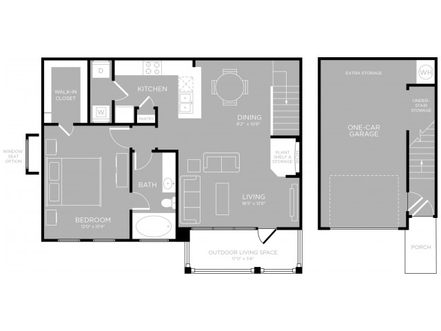 Floor Plan 13 | Apartments Austin TX | The Mansions at Travesia