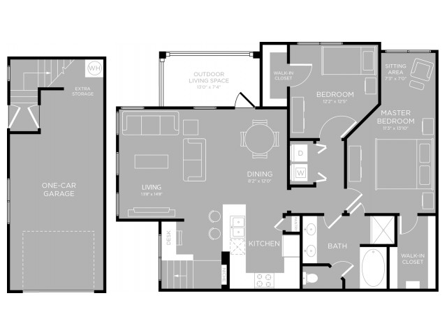 Floor Plan 17 | Apartments North Austin | The Mansions at Travesia