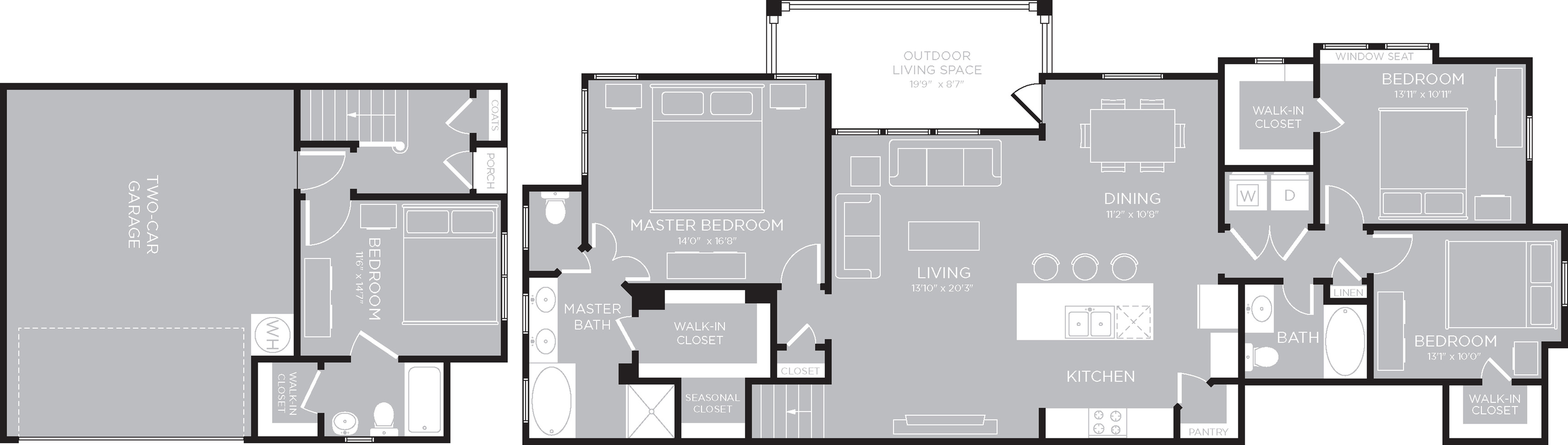 Floor Plan 27 | Apartments North Austin | The Mansions at Travesia