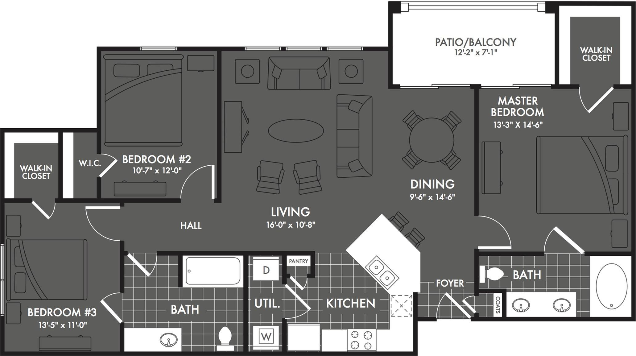 Studio apartments san antonio the estates at briggs ranch - 3 bedroom apartments san antonio ...