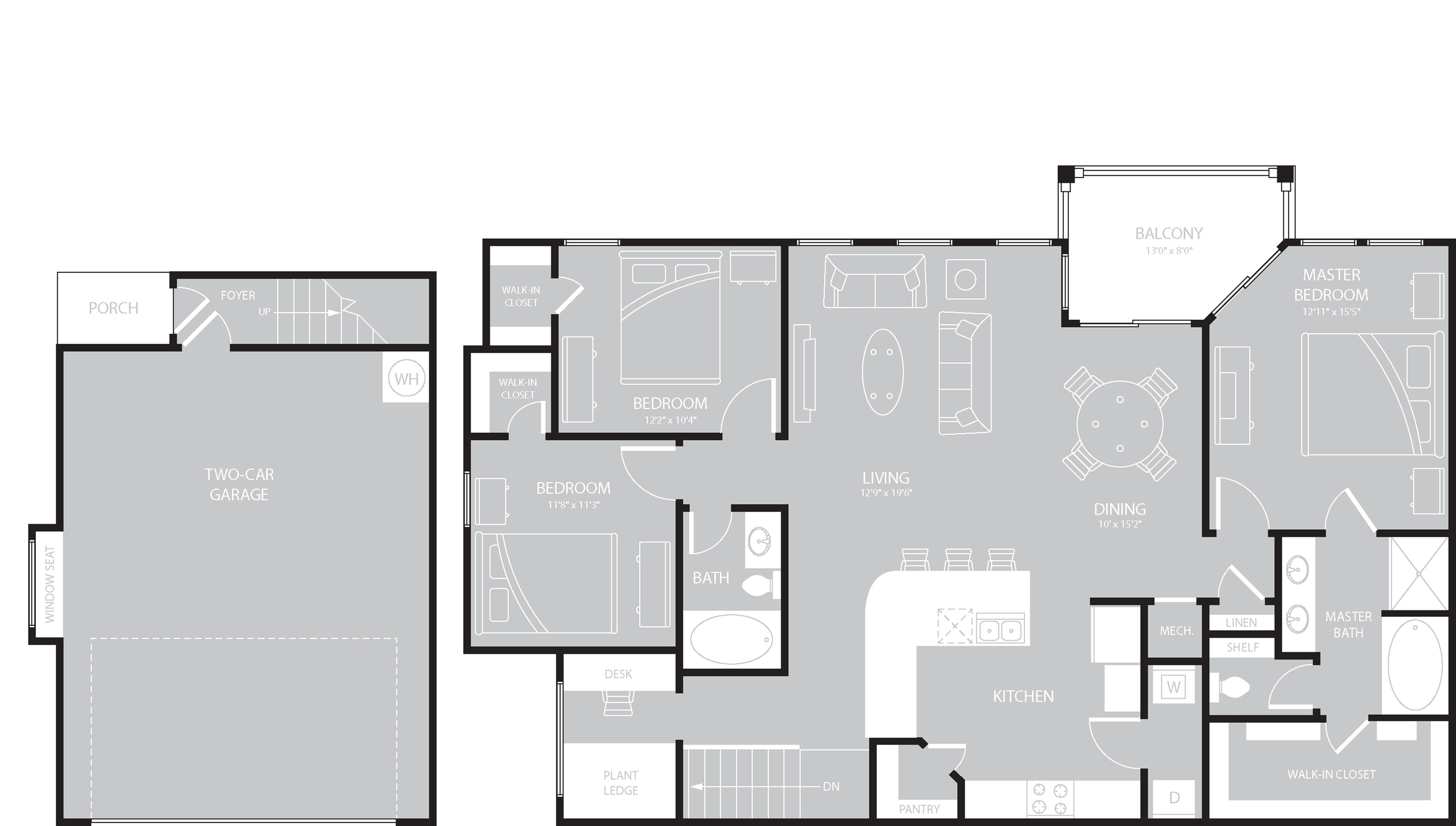 Floor Plan 14 | The Mansions on the Park