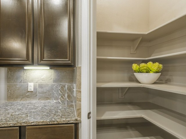 Image of Spacious Walk-In Pantries with Built-In Shelves* for The Mansions Woodland