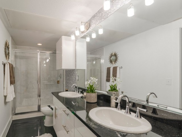 Image of Massive Granite Bath Countertops for The Towers Seabrook