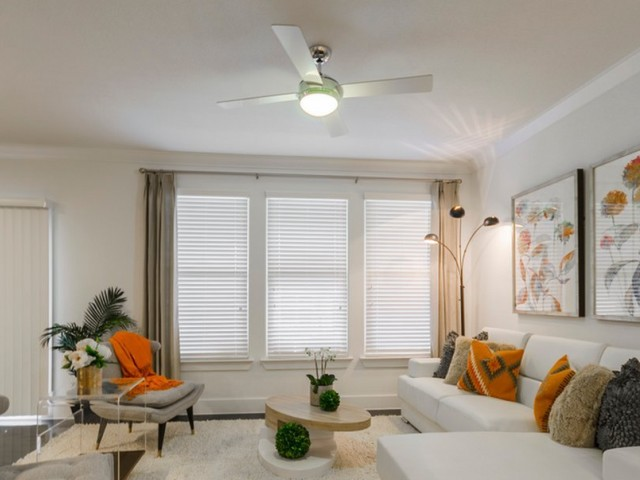 Image of Variable Speed Cordless Ceiling Fans with Lights* for The Towers Seabrook