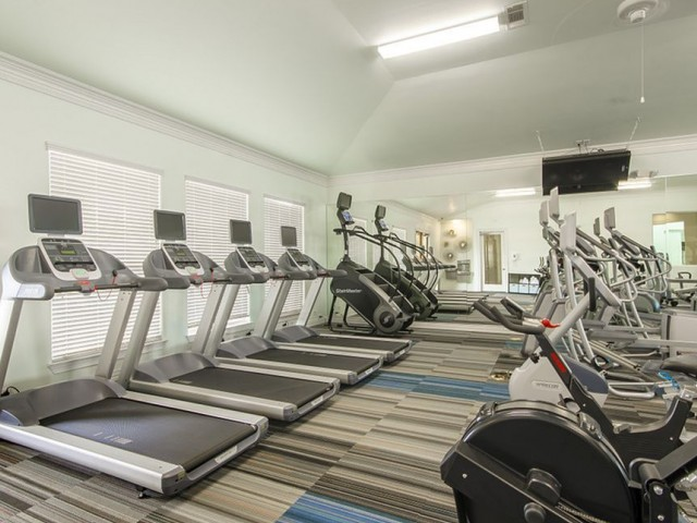 Image of 24/7 Fully Equipped High-Tech Fitness Center with Cardio Theater for The Mansions 3Eighty