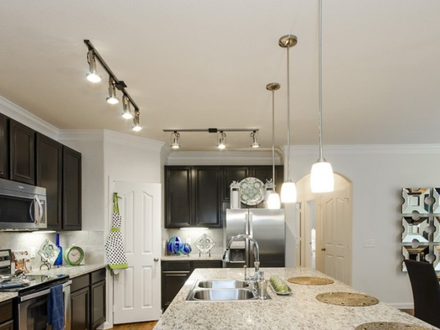 Image of Contemporary Track Lighting  &  Designer Pendants for The Mansions on the Park