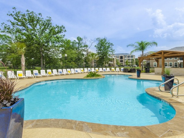 Image of Luxe, Resort-Style Swimming Pool with  Tanning Deck & Splash Park for The Mansions on the Park