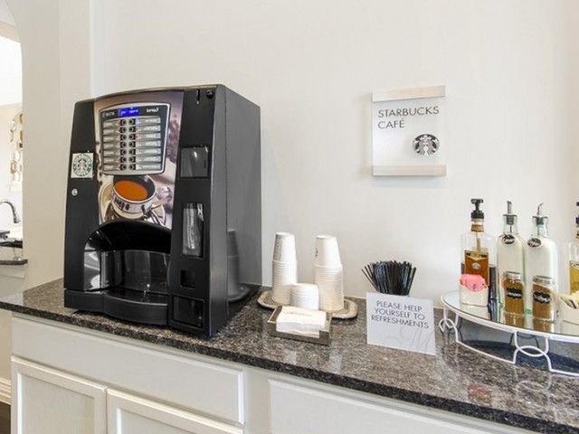 Image of Dedicated Starbucks® Wi-Fi Café for The Mansions on the Park