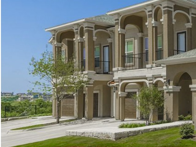 Image of Individual First-Floor Formal Entrances with Covered Porch & Foyer for The Mansions Lakeway