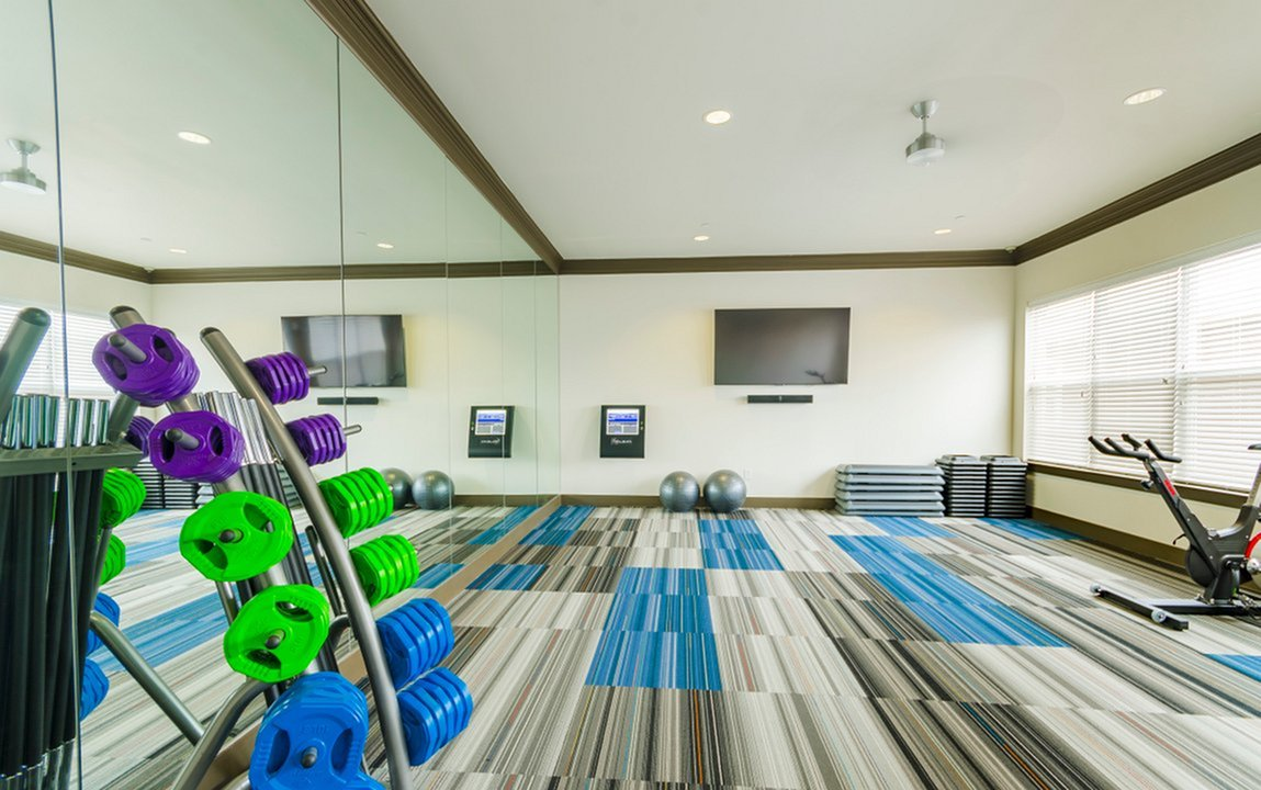 Image of Virtual Aerobics & Wellness Studio  featuring 200+ Classes for The Mansions McKinney