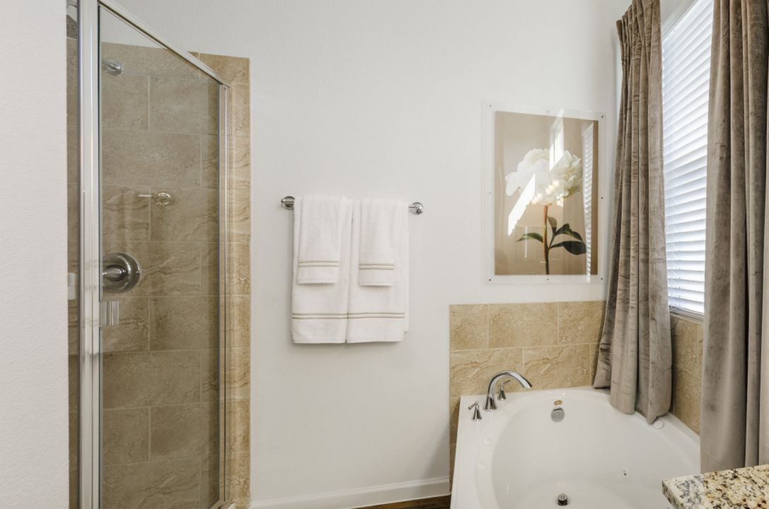 Image of Separate Stand-Up Showers with Rainwater Showerheads & Upgraded Plumbing Fixtures* for The Mansions Lakeway