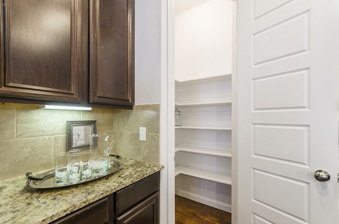 Image of Spacious Walk-In Pantries with Built-In Shelves* for The Mansions Lakeway