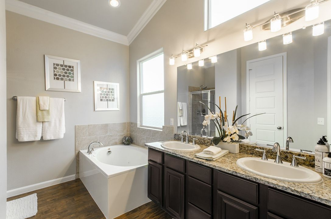 Image of Elegant Granite Bath Countertops* for The Mansions at Briggs Ranch
