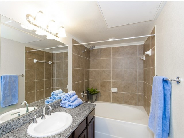 Image of Rainwater Showerheads & Modern Chrome Plumbing Fixtures for The Grand Estates Woodland