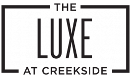 The Luxe at Creekside Logo | Apartments New Braunfels TX | The Luxe at Creekside