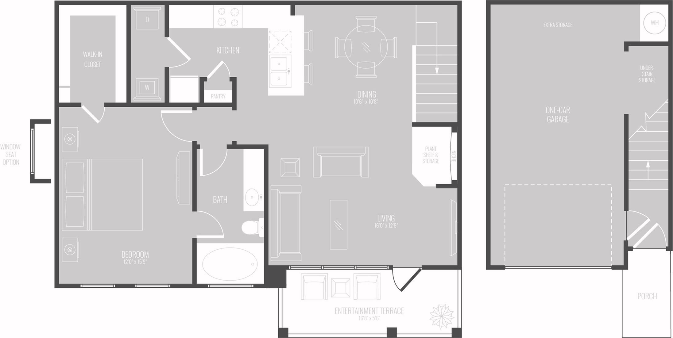 Floor Plan 5 | Apartment In Georgetown TX | Mansions of Georgetown