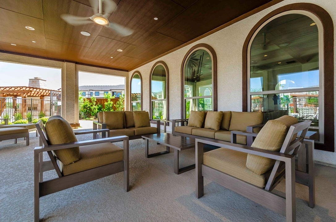 Image of Community Outdoor Wi-Fi Lounge for The Mansions at Spring Creek
