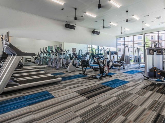 Image of 24/7 Fully Equipped High-Tech Fitness Center with Cardio Free Weights & Training Stations for The Towers at Spring Creek