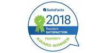 2018 Resident Satisfaction Winner