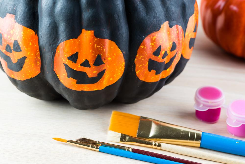 No Carve Pumpkin Decorating