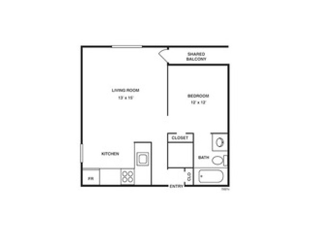 Floor Plan 3 | Coach House Apartments