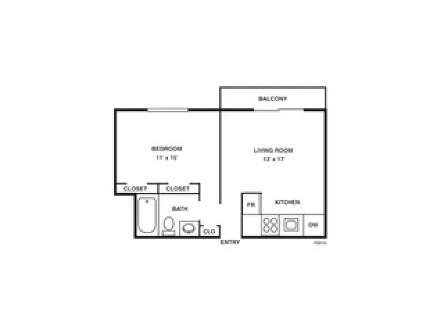 Floor Plan 2 | Coach House Apartments