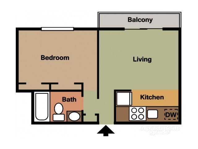 Floor Plan 7 | Coach House Apartments
