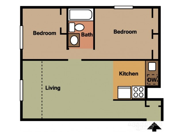 Floor Plan 10 | Coach House Apartments