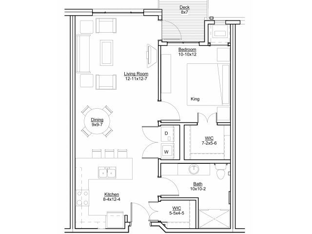St. Anthony Apartment Floor Plans I Legends at Silver Lake Village