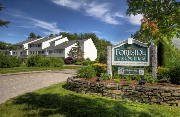 Spectacular grounds and landscaping all throughout Foreside Estates.