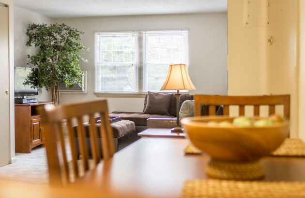 Experience spacious floorplans at Princeton at Mount Vernon.