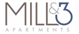 Mill and 3 Apartments Logo | 2 Bedroom Apartments Lowell MA | Mill and 3 Apartments