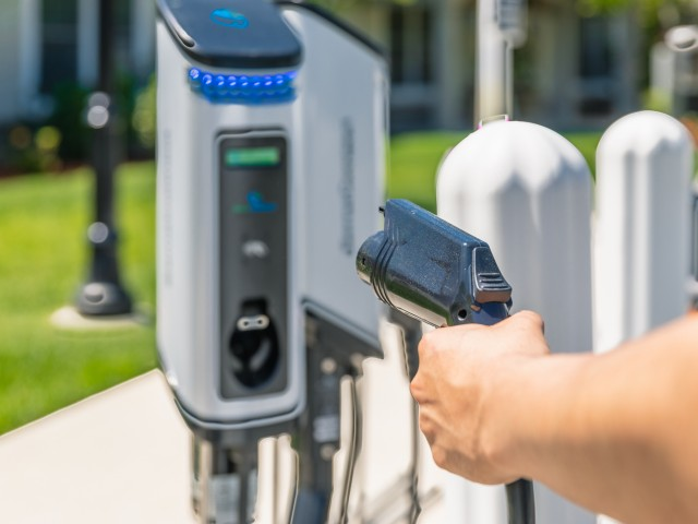 Image of Electric Car Charging Station for Princeton Westford