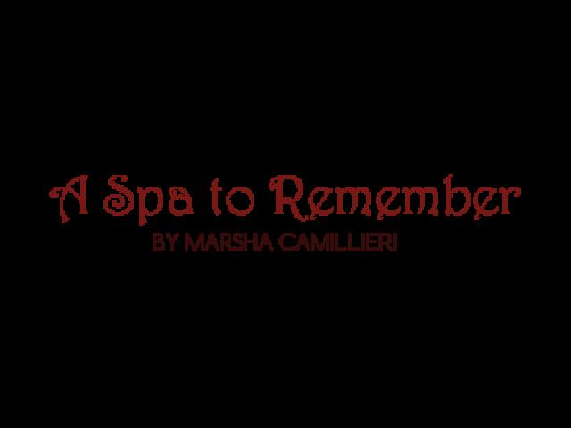 A Spa to Remember Logo