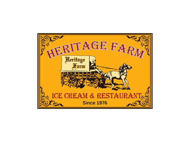 Heritae Farm Ice Cream & Restaurant logo