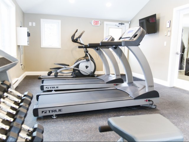 State of the art fitness center | Princeton Dover Apartments