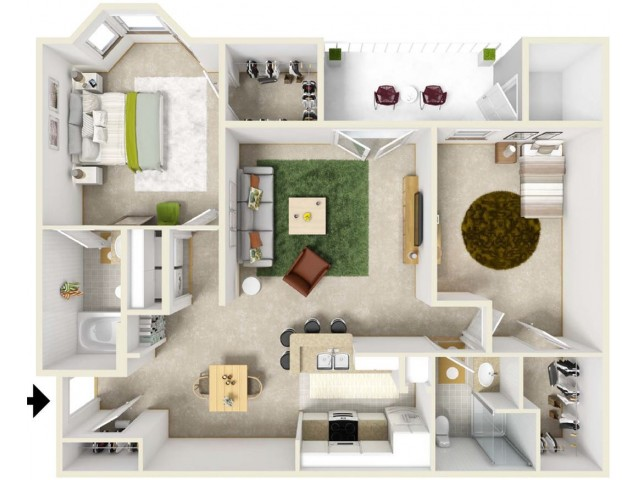 2 bed 2 bath apartment in columbia mo kelly 39 s ridge - Two bedroom apartments columbia mo ...