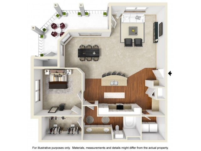 1 bed 1 bath apartment in columbia mo kelly farms - 3 bedroom apartments columbia mo ...