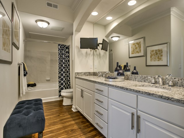 Image of Double Sink Vanities* for Kelly Reserve Apartments