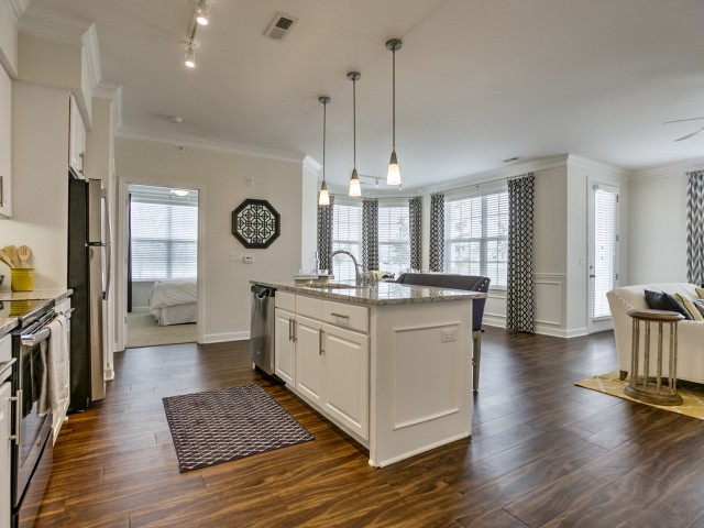 Image of Center Kitchen Islands for Kelly Reserve Apartments