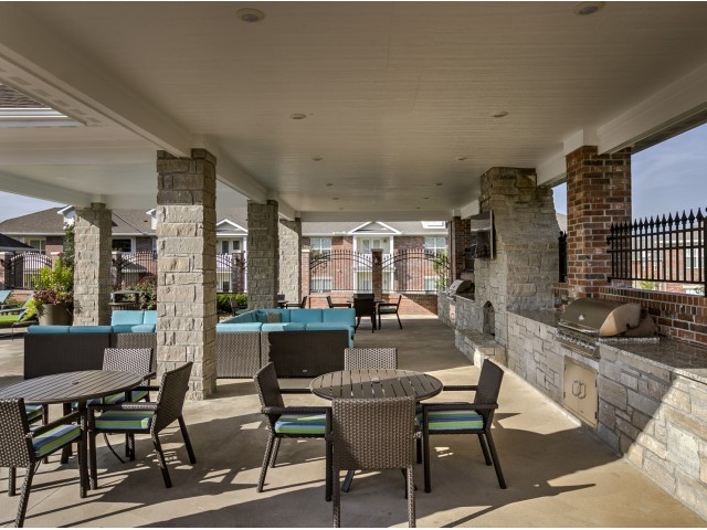 Image of Grilling Area for Kelly Reserve Apartments