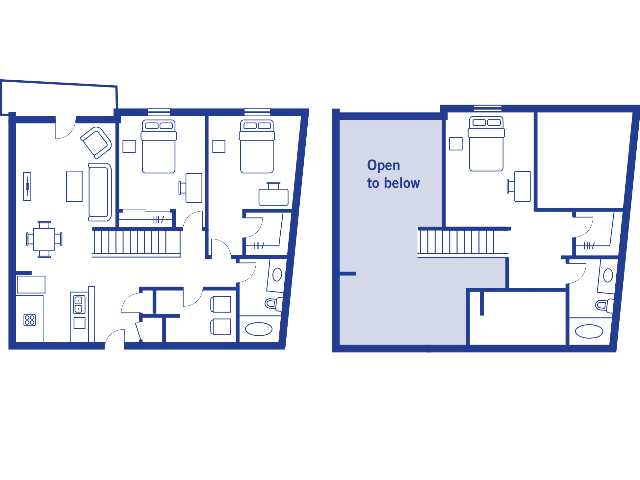 3 Bedroom, 2 Bath Townhome