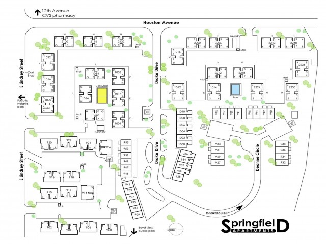 1-bed flat at Springfield | 1 Bed Apartment | Norman ...