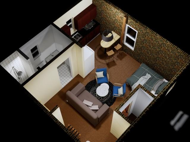 Garage Studio Apartment | Studio